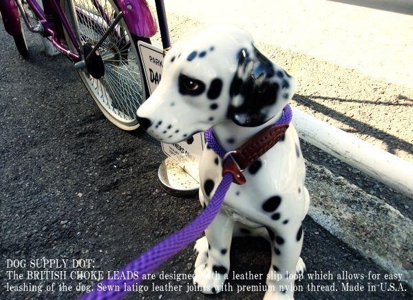 犬の躾用(しつけ)一体型リード:ブリティッシュ チョークリード