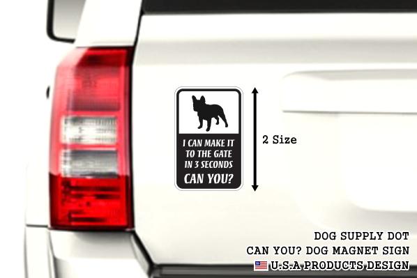 CAN YOU?マグネットサイン:フレンチブルドッグ