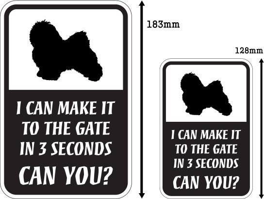 CAN YOU?マグネットサイン:ハバニーズ