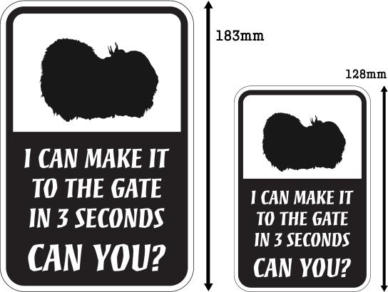 CAN YOU?マグネットサイン:ペキニーズ