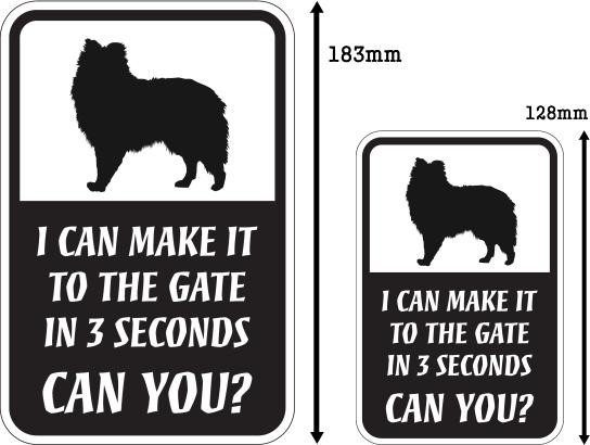 CAN YOU?マグネットサイン:シェットランドシープドッグ