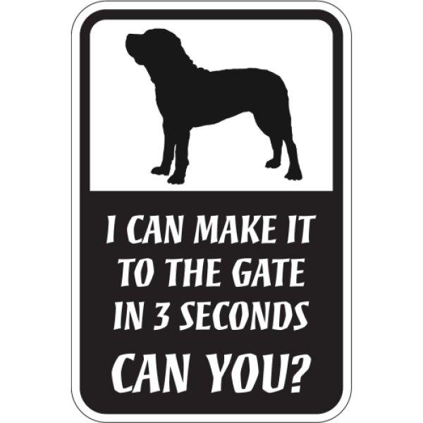 画像1: CAN YOU?マグネットサイン:土佐犬 (1)