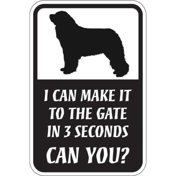 画像1: CAN YOU?マグネットサイン:レオンベルガー (1)