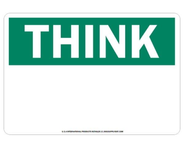画像1: オーダーマグサイン:THINK (1)