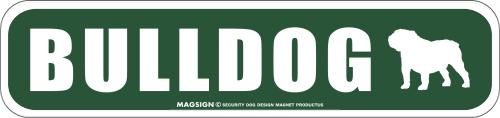 BULLDOG ストリートマグネットサイン:ブルドッグ