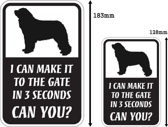 CAN YOU?マグネットサイン:レオンベルガー