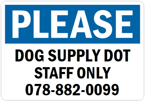 英語や数字・記号でアメリカンなオリジナルマグネット看板が作れるオーダーメイドのマグネットサイン:PLEASE(BLUE)