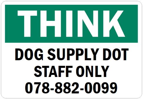 英語や数字・記号でアメリカンなオリジナルマグネット看板が作れるオーダーメイドのマグネットサイン:THINK