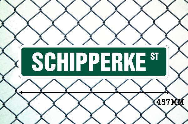 スキッパーキ 英語看板 アメリカ道路標識 ストリートサインボード