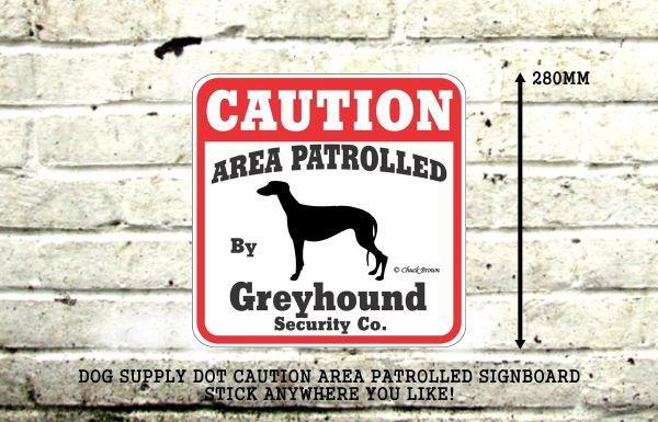 グレイハウンド注意 英語看板 アメリカ輸入サインボード